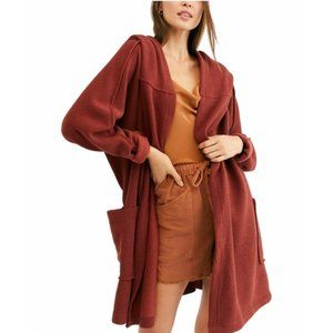 Free People Willow Hooded Cardigan. XS/S